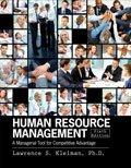 Human Resource Management A Managerial Tool for Competitive Advantage 6th (Revised) edition cover
