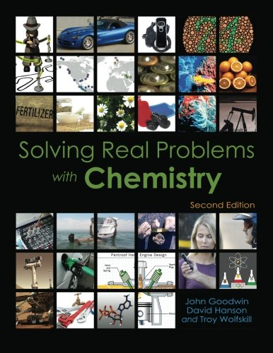 Solving Real Problems with Chemistry  2nd edition cover