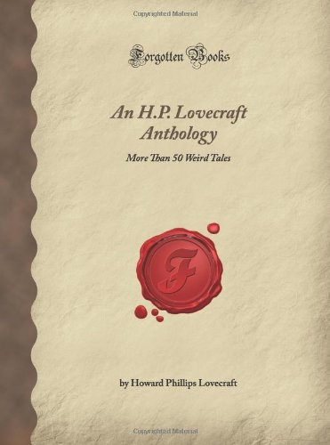 H.P.LOVECRAFT ANTHOLOGY        N/A edition cover