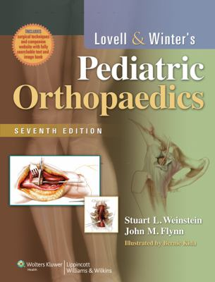 Lovell and Winter's Pediatric Orthopaedics  7th 2014 (Revised) edition cover