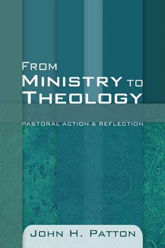 From Ministry to Theology  N/A edition cover