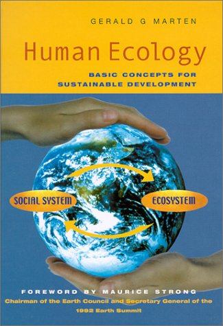 Human Ecology Basic Concepts for Sustainable Development  2001 9781853837142 Front Cover