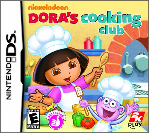 Dora the Explorer: Dora's Cooking Club - Nintendo DS Nintendo DS artwork