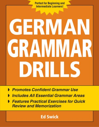 German Grammar Drills   2007 edition cover