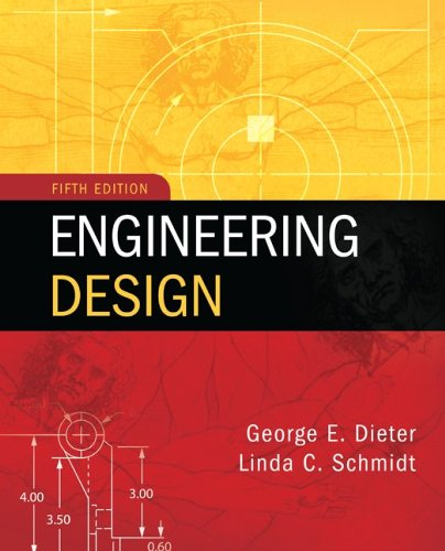 Engineering Design  5th 2013 edition cover
