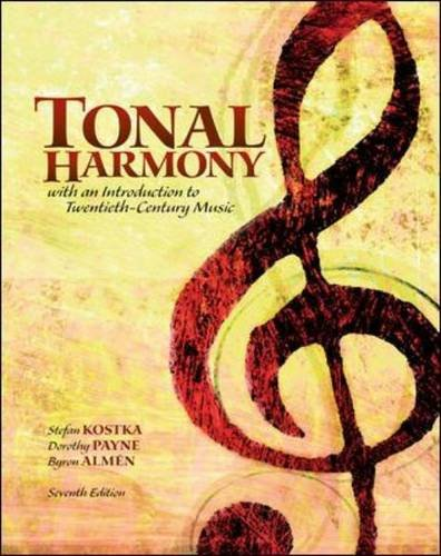 Tonal Harmony  7th 2013 9780078025143 Front Cover
