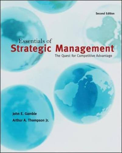 Essentials of Strategic Management The Quest for Competitive Advantage 2nd 2011 edition cover