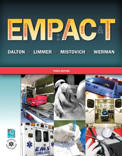 Emergency Medical Patients Assessment, Care, and Transport  2012 9780135119143 Front Cover