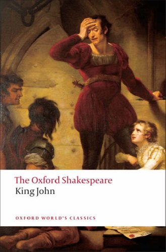Oxford Shakespeare King John  2008 edition cover