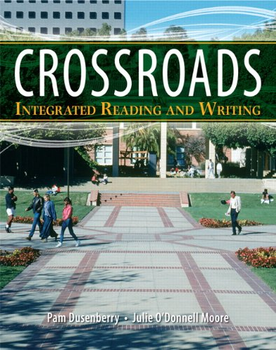 Crossroads Integrated Reading and Writing  2011 9780205834143 Front Cover