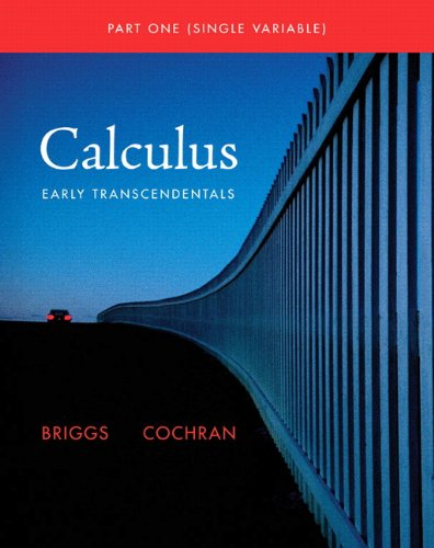 Single Variable Calculus Early Transcendentals  2011 edition cover