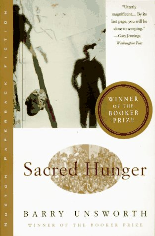 Sacred Hunger  N/A edition cover