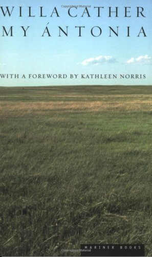 My Antonia   1995 edition cover