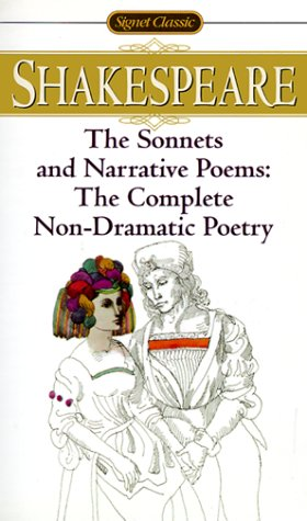 Sonnets and Narrative Poems The Complete Non-Dramatic Poetry Revised  edition cover