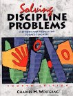 Solving Discipline Problems Methods and Models for Today's Teachers 4th 1999 9780471365143 Front Cover