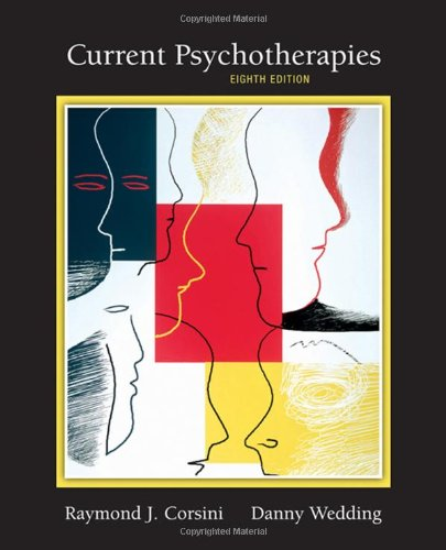 Current Psychotherapies  8th 2008 (Revised) edition cover