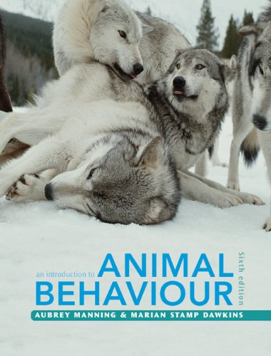 Introduction to Animal Behaviour  6th 2012 (Revised) edition cover