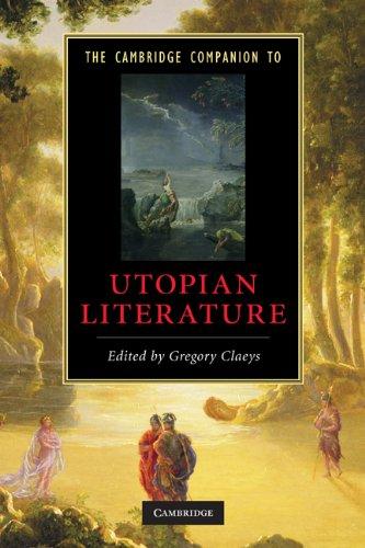 Cambridge Companion to Utopian Literature   2010 9780521714143 Front Cover