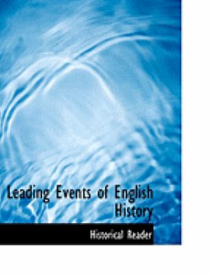 Leading Events of English History:   2008 edition cover