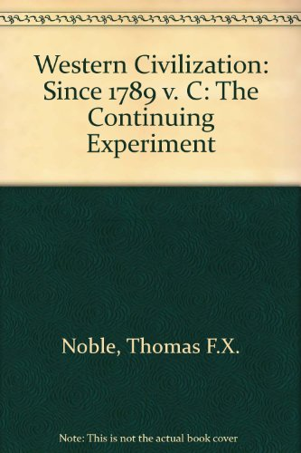 Since 1789 The Continuing Experiment 3rd 2002 9780618102143 Front Cover