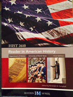 READER IN AMERICAN HISTORY >CUSTOM<     N/A 9780738062143 Front Cover