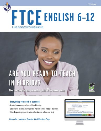 Florida Ftce English 6-12 With Online Practice Tests:   2013 edition cover