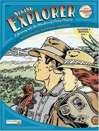 String Explorer, Bk 1 Teacher's Manual Teachers Edition, Instructors Manual, etc. edition cover