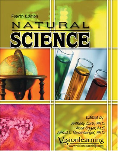 NATURAL SCIENCE-TEXT 4th 2005 9780757517143 Front Cover
