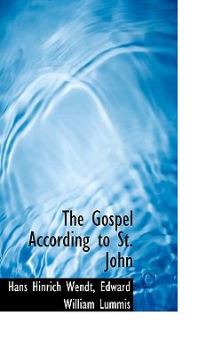The Gospel According to St. John:   2009 edition cover