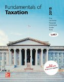 Mp Fundamentals of Taxation 2015 + Taxact:   2014 9781259546143 Front Cover