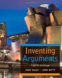 Inventing Arguments  4th 2016 edition cover