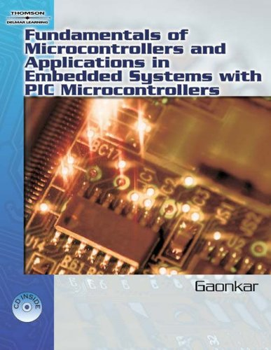 Fundamentals of Microcontrollers and Applications in Embedded Systems with PIC Microcontrollers   2007 9781401879143 Front Cover