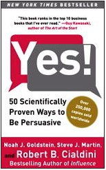 Yes! 50 Scientifically Proven Ways to Be Persuasive  2009 edition cover
