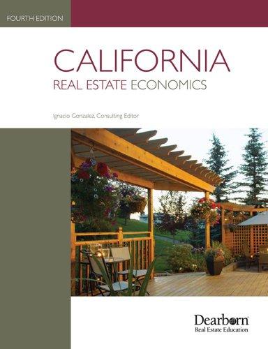 California Real Estate Economics   2010 edition cover