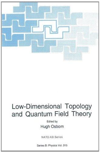 Low-Dimensional Topology and Quantum Field Theory   1993 9781489916143 Front Cover