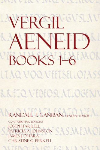 Vergil Aeneid  N/A 9781585102143 Front Cover