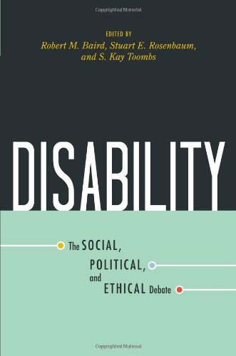 Disability The Social, Political, and Ethical Debate  2008 edition cover