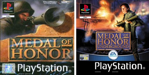 Medal of Honor & Medal of Honor UnderGround Twin Pack PlayStation artwork