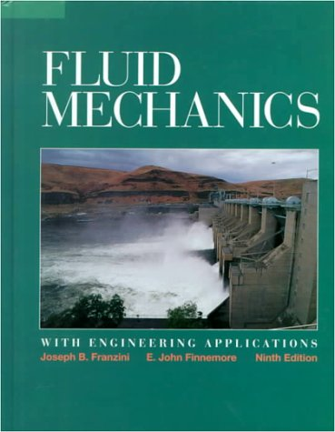 Fluid Mechanics with Engineering Applications  9th 1997 edition cover
