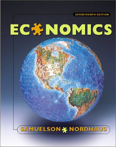 Economics  17th 2001 (Revised) 9780072509144 Front Cover