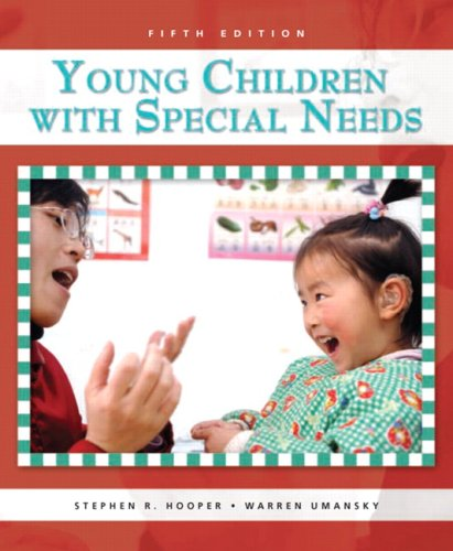 Young Children with Special Needs  5th 2009 edition cover