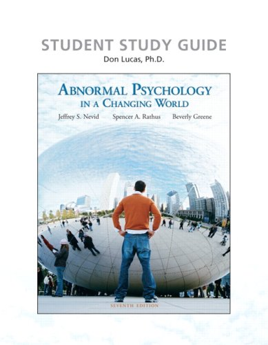 Study Guide  7th 2008 9780136003144 Front Cover