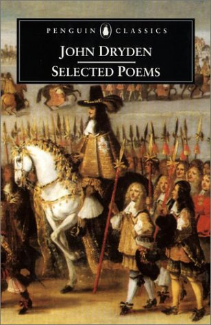 John Dryden - Selected Poems   2001 9780140439144 Front Cover