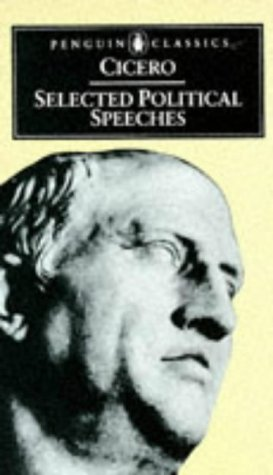 Cicero Selected Political Speeches  2002 edition cover
