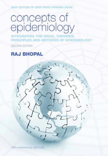 Concepts of Epidemiology Integrating the Ideas, Theories, Principles and Methods of Epidemiology 2nd 2008 9780199543144 Front Cover