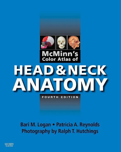 Color Atlas of Head and Neck Anatomy  4th 2009 edition cover