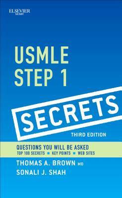 USMLE Step 1 Secrets  3rd 2013 edition cover