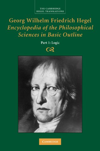 Encyclopaedia of the Philosophical Sciences in Basic Outline   2010 9780521829144 Front Cover