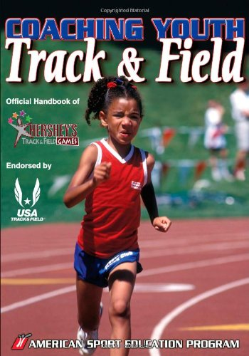 Coaching Youth Track and Field Official Handbook of Hershey's Track and Field Games  2008 edition cover