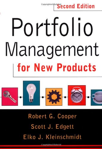 Portfolio Management for New Products Second Edition 2nd 2001 edition cover